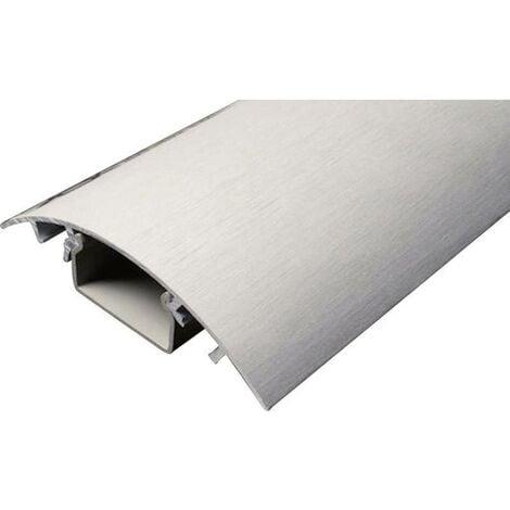 Protecteur de câble (L x l x h) 250 x 80 x 20 mm aluminium (brossé) Contenu: 1 pc(s)