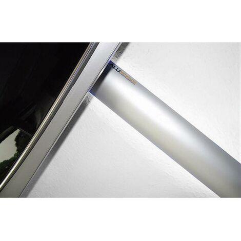 Protecteur de câble (L x l x h) 250 x 80 x 20 mm argent (mat, anodisé) Contenu: 1 pc(s)