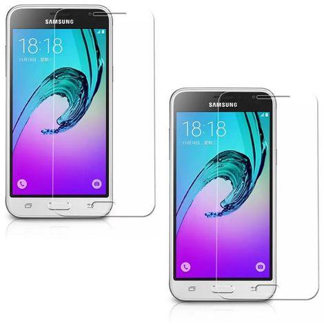 Protecteur d'écran 2X Armour foil protecteur Samsung Galaxy J13 Smartphone J13 Smartphone Protect en verre trempé 9H