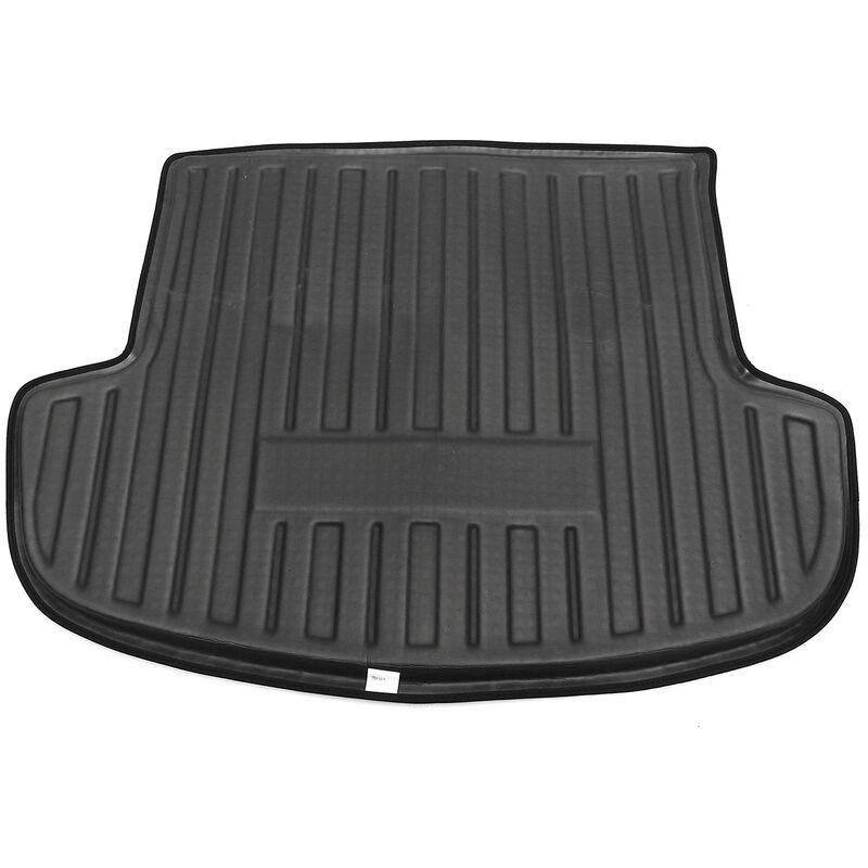 Protecteur imperméable de tapis de sol de cargaison de coffre arrière de voiture noire antidérapante pour Mitsubishi Outlander 2013-2017