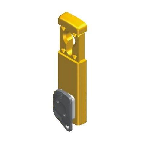 """main image of """"Protecteur magnétique MIDI SARL pour cylilndre rond - Ø37mm - chromé satiné- 3 clés - 31MG410FOT"""""""