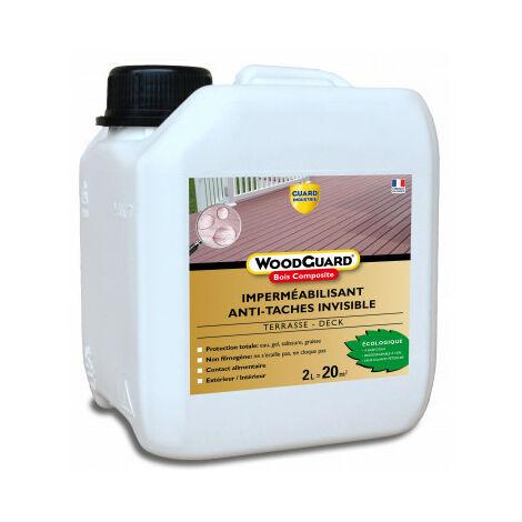Protection anti-taches bois composite