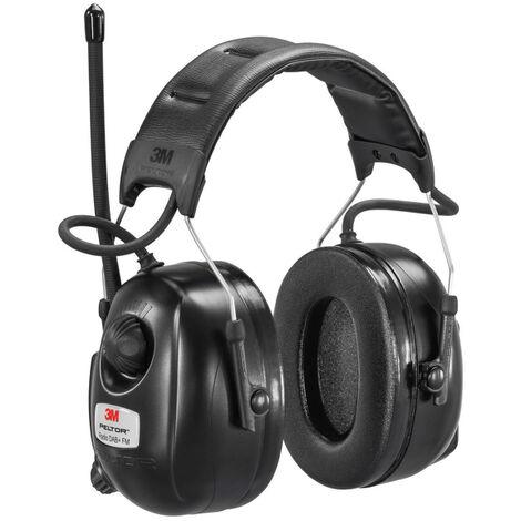 Protection auditive avec casque DAB FM Radio 3M Peltor HRXD7A-01 avec DAB / FM