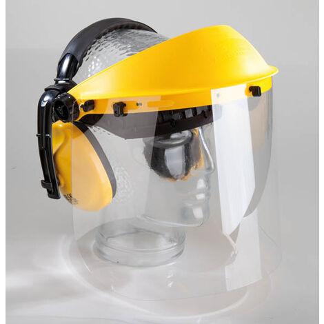 """main image of """"Protection auditive et faciale avec visière transparente Westfalia"""""""
