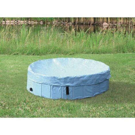 Protection de piscine 120cm - Pour article 39482 - Bleu clair - Pour chien Trixie