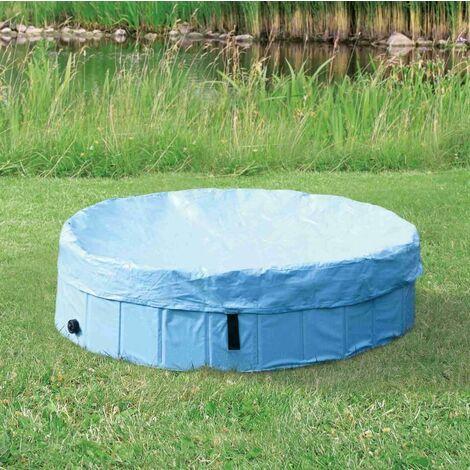Protection de piscine pour chien #39480 - ø 70 cm, bleu clair