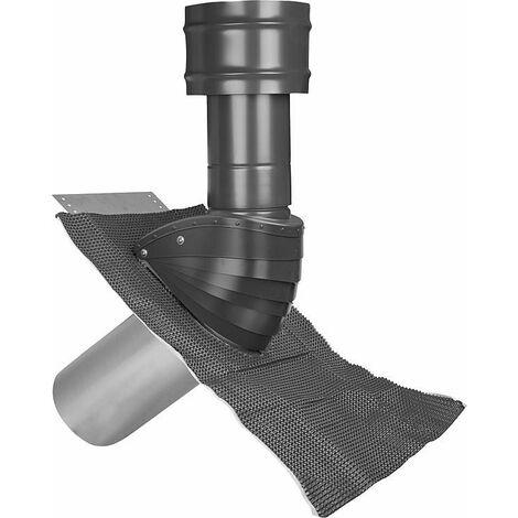 Protection de toit (air) Type SDL 100/125 rouge naturel