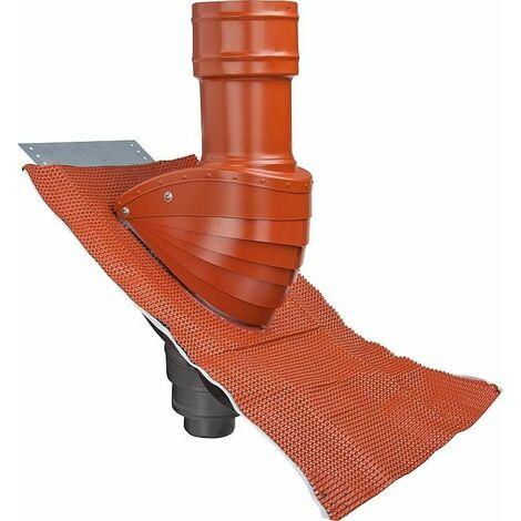 Protection de toit (eaux usées) Type SDS 100 rouge naturel