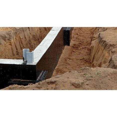 Protection des fondations pulvérisable