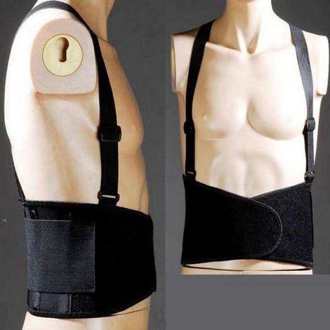 Protection lombaire avec bretelles Coverguard