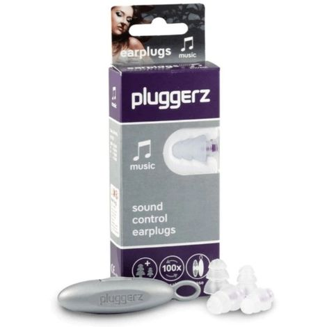 Protection Oreilles Music Pluggerz - Transparent