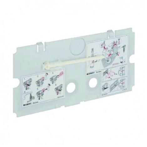 Protection plate - GEBERIT : 240.512.00.1