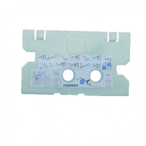 Protection plate - GEBERIT : 241.343.00.1