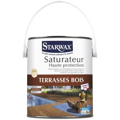 Protection terrasses bois Starwax