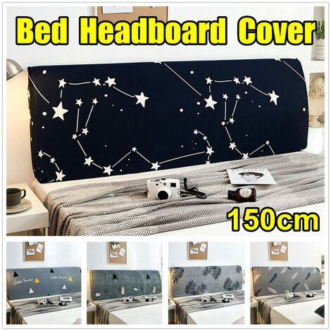 """main image of """"Protective Cover for 150cm Headboard, Stretch Dust Cover, Soft Headboard Cover (Queen of Trees)"""""""