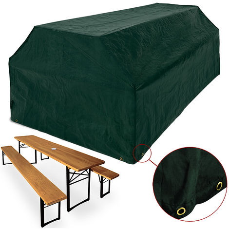 Protective Cover for Beer Benches 180 x 95 x 76 cm
