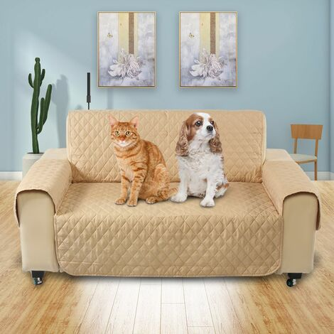 Protective cover for cat 2 places for cat, sofa, protective mat, washable strap