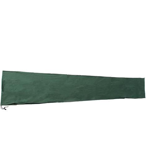 Protective Cover for Deported Umbrella 190x96cm Cover for Waterproof Garden Umbrella, Dustproof / UV-Green Hasaki
