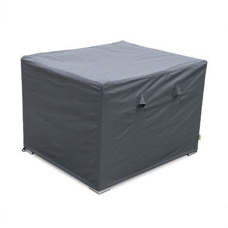 Protective cover for Genova garden armchair - Dark Grey - Water-resistant with polyamide coating
