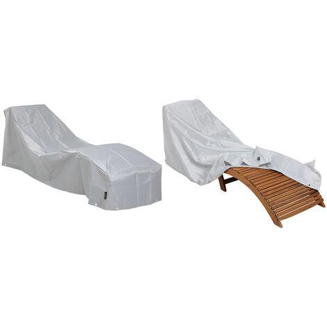 Protective Cover Sun Lounger Kingsleeve Protection Tarpaulin 420D Oxford Lounger Protective cover deck chair, 107075 (de)