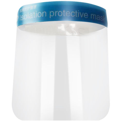 Protective Face Cover Spitting Isolation Dust-proof Fog-proof Cover