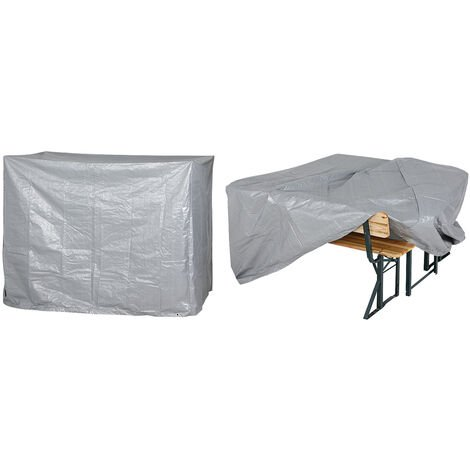 Protective Garden Cover Protection Tarpaulin Patio Bistro Furniture Covering PE