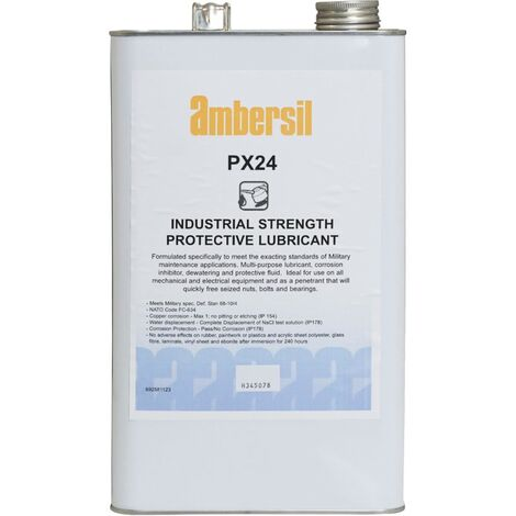 Protective Lubricant, Military Grade