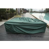 Protective Rain Covers for Rattan Garden Sofa Set