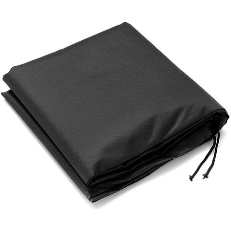 Protective waterproof cover for barbecue - Black 170X61X117CM