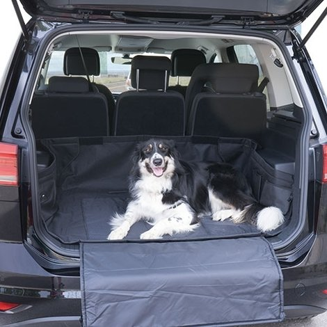 Protector - Cubierta de maletero para el transporte de perros u otras mascotas Nylon Medidas 122 x 150 cm.