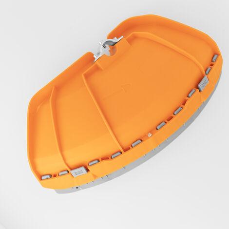 Protector cuchilla naranja desbrozadora