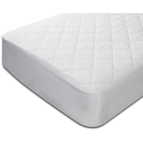 Protector de colchón acolchado impermeable y antiácaros Pikolin
