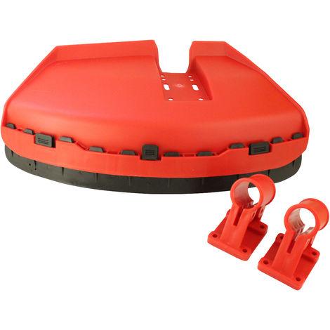 Protector de cuchilla para barras de desbrozadoras.