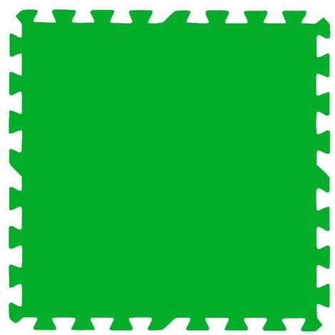 Protector de suelo para Piscinas Bestway 9 Piezas 78x78 cm