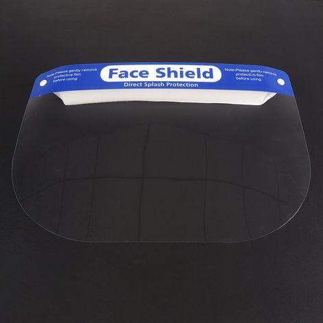 Protector facial transparente, a prueba de viento y antiniebla a prueba de polvo