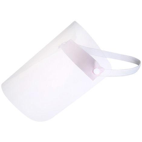 Protector facial transparente, mascara protectora a prueba de salpicaduras,Rosa