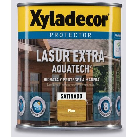 Protector Lasur Extra Aquatech Xyladecor Satinado Pino 750ml