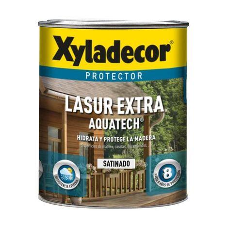 Protector Lasur Extra Satinado Aquatech Wengué 750ml