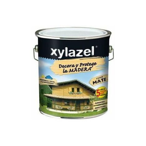Protector Lasur Para Madera Mate Nogal 750ml Xylazel Plus