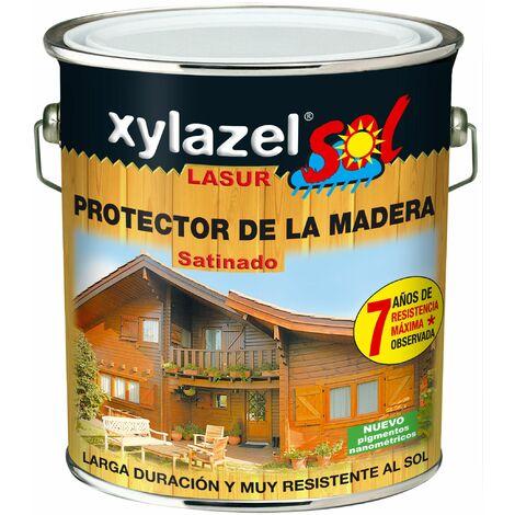 Protector Lasur Para Madera Satin Incoloro 2,5lt Xylazel Sol