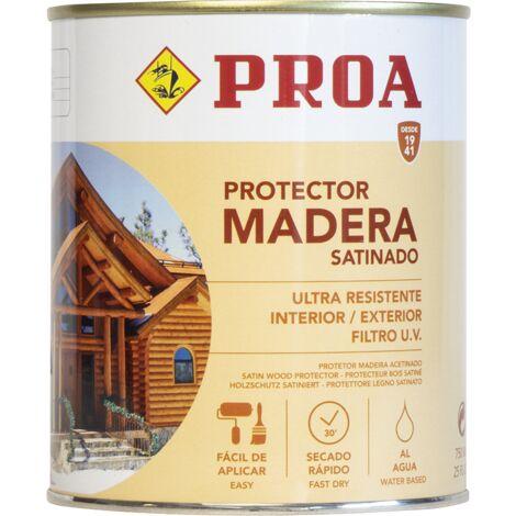 Protector madera al agua. PROA
