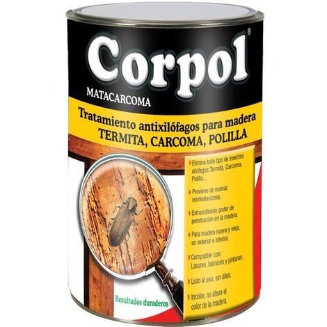 Protector Madera Carcoma - CORPOL - 5000021 - 750 ML
