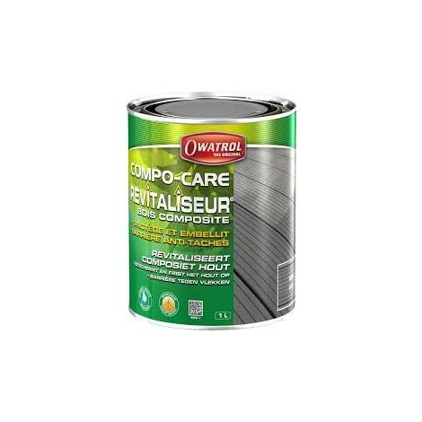 PROTECTOR MADERA COMPOSITE GRIS 1 LT