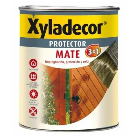 Protector mate extra 3 en 1 NOGAL Xyladecor 375 ml