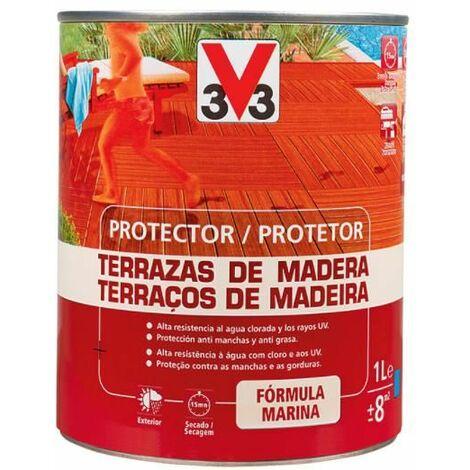 Protector terraza de madera classic incoloro 1L