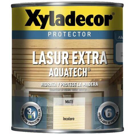 Protector Xyladecor Lasur Extra Aquatech INCOLORO 2,5 L