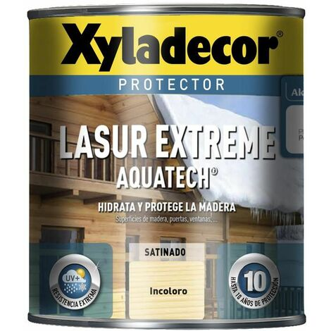 Protector Xyladecor Lasur Extreme Aquatech Incoloro 750 Ml