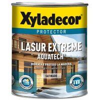 Protector Xyladecor Lasur Extreme Aquatech Nogal 2,5l