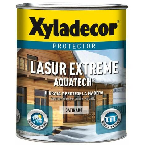 Protector Xyladecor Lasur Extreme Aquatech Nogal 750ml