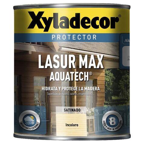 Protector Xyladecor Lasur Max Aquatech Incoloro 750 Ml